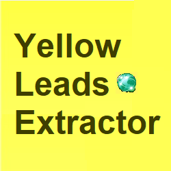 Yellow Leads Extractor 7.6.5  Crack With Activation Key Free Download 2021